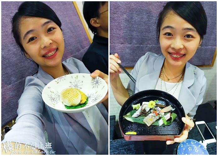 東區日式無菜單料理干貝海膽堡