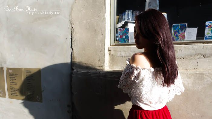 中山站染髮推薦│暖冬裡的紅酒巧克力色,BonBonHair讓我第一次染髮不害怕