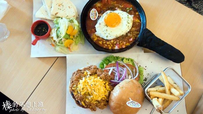 新北│Box Diner巴克斯美式小館,食尚玩家推薦餐廳,致理技術學院學生吃飽飽的板橋美食(捷運新埔站)