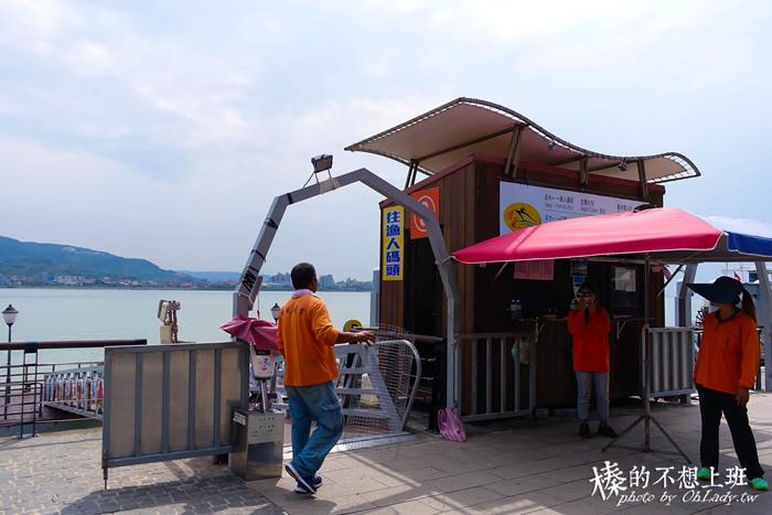 淡水魚人碼頭巧克力夢公園親子旅遊