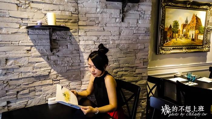 台北│走進松菸巷弄裡的歐洲城堡,Hack Bistro 哈克廚房平價義式料理