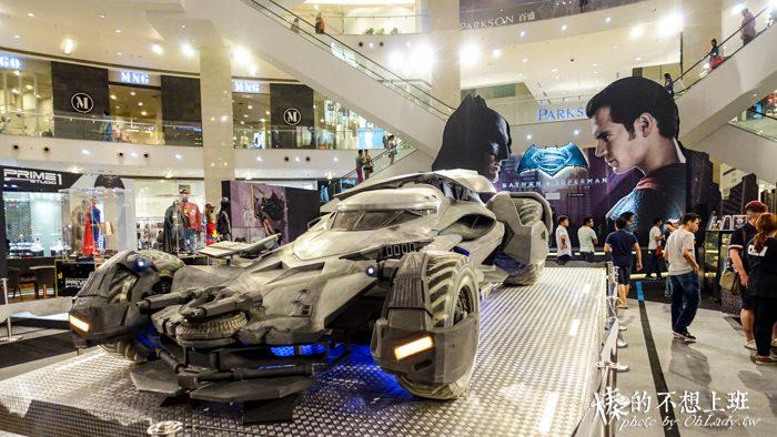 馬來西亞│Pavilion,吉隆坡金三角區購物中心/在流行指標中遇見《蝙蝠俠對超人︰正義曙光》