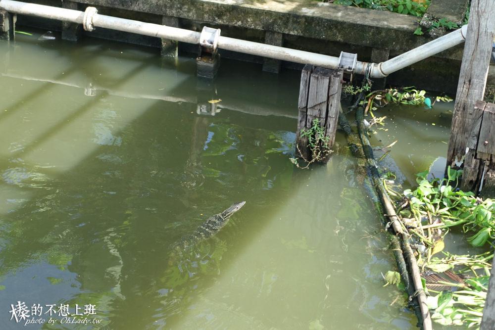 曼谷水上市場Lat Mayom空叻瑪榮水上市場
