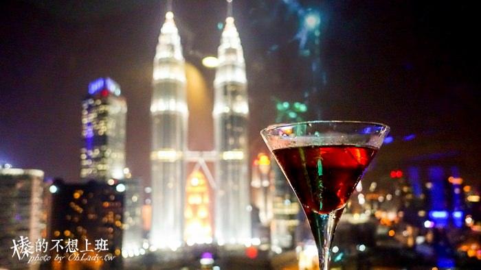 馬來西亞│Sky Bar,凝望雙子塔最佳的空中酒吧 / 俯瞰吉隆坡夜景