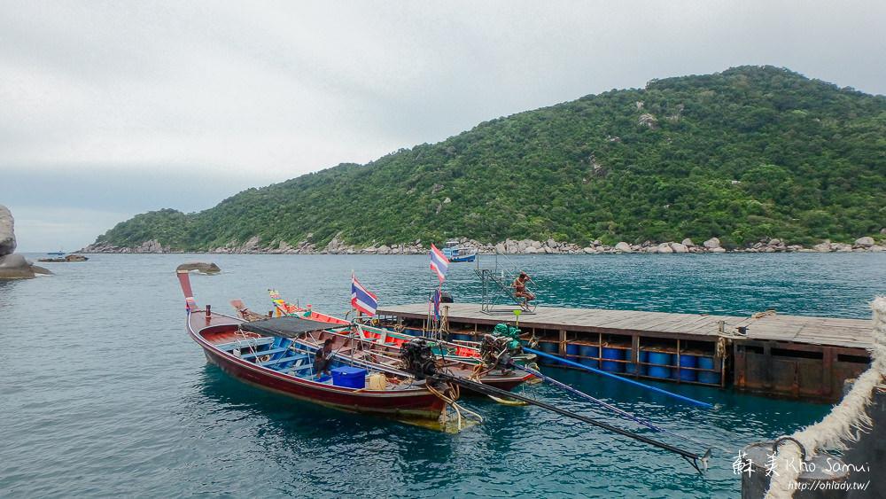 蘇美島浮潛龜島南緣島