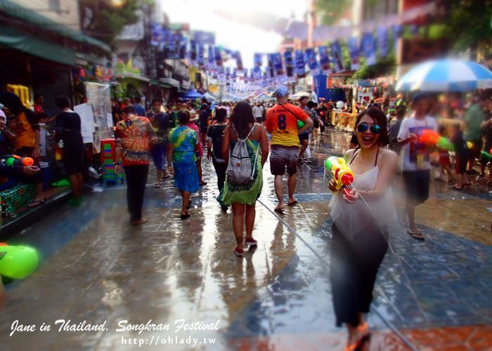 泰國潑水節songkarn曼谷