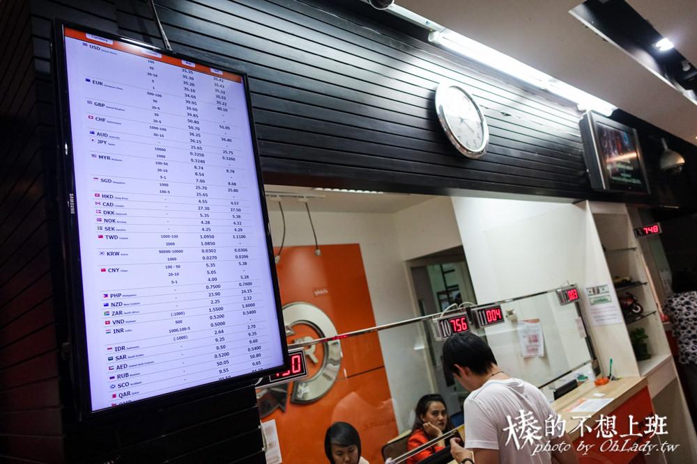 曼谷換錢 泰國旅遊 Super rich BTS站換匯