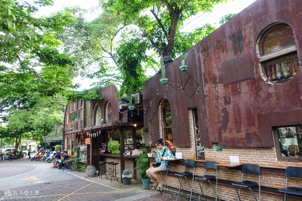 曼谷咖啡廳 泰國文青旅行 復古咖啡廳