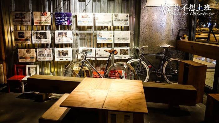 台北│信義區工業美感,Woolloomooloo澳式咖啡廳