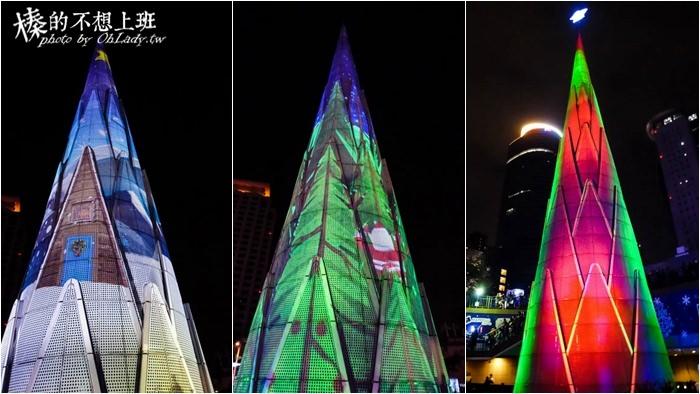 新北│2015新北歡樂耶誕城 ‧ 浪漫燈海點亮板橋聖誕節